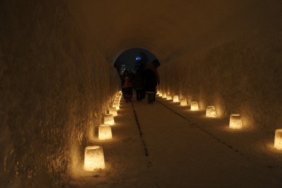 トンネル内