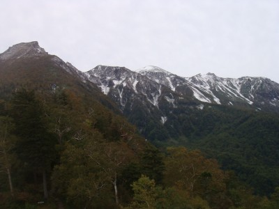 5合目より山々