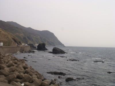 白神岬からの風景