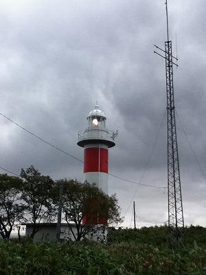 見えてきたのは羅臼灯台