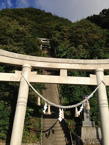 大田山神社鳥居
