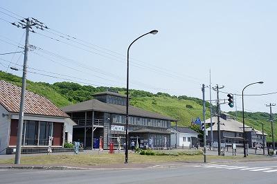 道路越しの道の駅