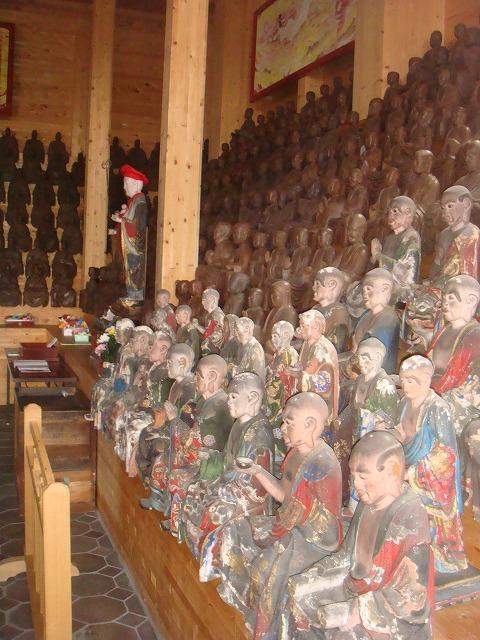 宋円寺 五百羅漢像