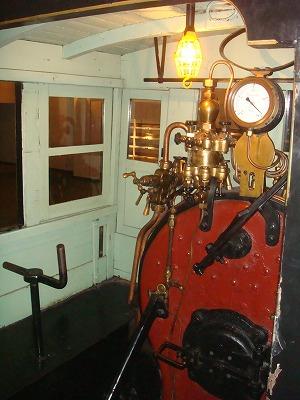 小樽博物館 SLの石炭入れる所