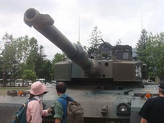 戦車の打つところ