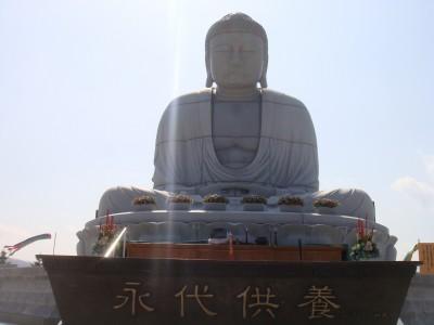 巨大な仏像アラワル!