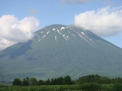 素敵な羊蹄山